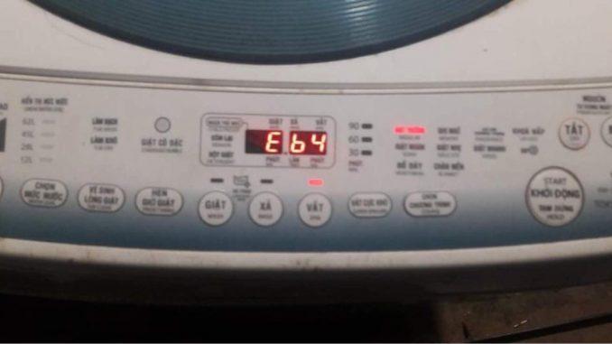 Máy giặt toshiba báo lỗi eb4